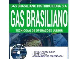 Apostila Técnico(a) de Operações Junior do Processo Seletivo do Gás Brasiliano Distribuidora S.A – 2017
