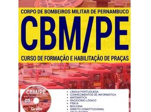 Apostila Concurso CBM/PE – 2017, cargo: ingresso no Curso Formação e Habilitação de Praças (Soldado)