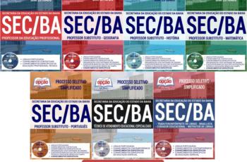 Apostilas de Estudo Processo Seletivo Secretaria de Estado da Educação do Estado da Bahia – SEC/BA – 2017, cargos: Comum a todos os Empregos