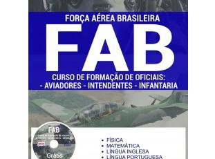 Apostila Preparatória Curso de Formação de Oficiais do Processo Seletivo da FAB (Aeronáutica) – 2017