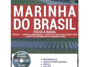 Apostila de Estudo Concurso para ingresso nos Cursos de Graduação da Escola Naval – Marinha do Brasil – 2017