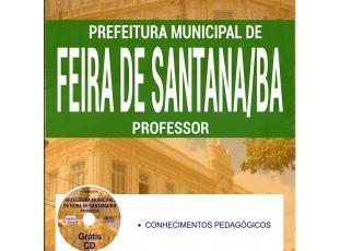 Apostila Professores Temporários da Seleção Pública da Prefeitura / Secretaria de Educação de Feira de Santana / BA – 2017