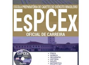 Apostila Concurso EsPCEx – 2017, cargo: ingresso no Curso Formação de Oficiais de Carreira