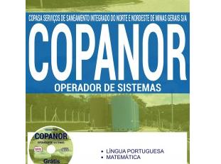 Apostila Concurso COPANOR / MG – 2017, emprego: Operador de Sistemas