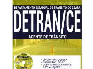 Apostila Preparatória para o Concurso do DETRAN / CE que será liberado no segundo semestre de 2017, previsão de 300 vagas