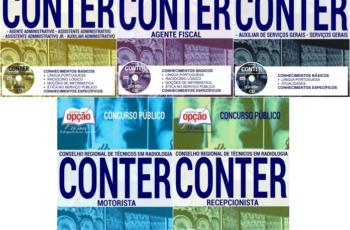 Apostilas Vários Cargos Concurso Conselho Nacional de Técnicos em Radiologia – CONTER / 2017