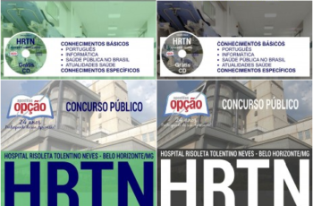 Apostilas Concurso HRTN / MG – 2017, Diversos Cargos