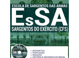 Apostila de Estudo Concurso para ingresso no Curso de Formação de Sargentos do Exército – EsSA / 2017