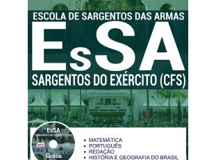 Apostila de Estudo Concurso para ingresso no Curso de Formação de Sargentos do Exército – EsSA / 2017