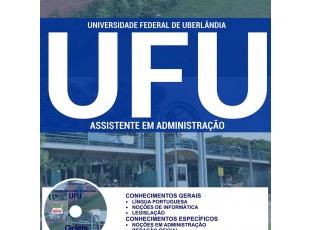 Apostila Concurso UFU / MG – 2017, cargo: Assistente em Administração
