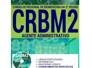 Apostila Concurso CRBM-2 / 2017, cargo: Agente Administrativo