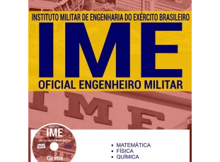 Apostila Concurso IME – 2017, cargo: Oficial Engenheiro Militar