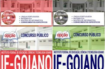 Apostilas Assistente em Administração, Auxiliar em Administração e Auxiliar de Biblioteca do Concurso Público do IF Goiano – 2017