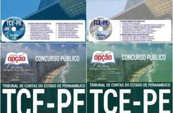 Apostilas de Estudo Concurso TCE/PE – 2017, cargos: Auditor de Controle Externo, Analista de Controle Externo e Analista de Gestão