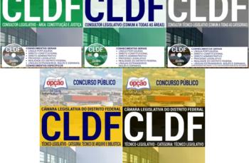 Apostilas Concurso CLDF – 2017, Técnico Legislativo, Consultor Legislativo e Consultor Técnico-Legislativo