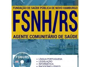 Apostila Concurso FSNH / RS – 2017, Agente Comunitário de Saúde