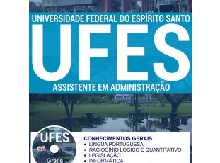 Apostila Concurso UFES – 2017, cargo: Assistente em Administração