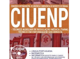 Apostila Técnico em Enfermagem Socorrista e Técnico Auxiliar em Regulação Médica do Concurso da CIUENP – 2017