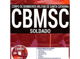 Apostila Soldado Bombeiro Militar do Concurso do CBM/SC – 2017
