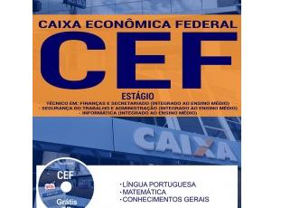 Apostila Seleção Pública CAIXA – 2017, Programa de Estágio de Nível Médio e Técnico