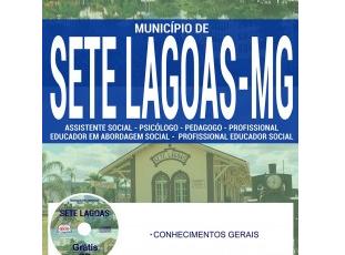 Apostila Processo Seletivo Prefeitura de Sete Lagoas / MG – 2017, Comum a Todos os Cargos