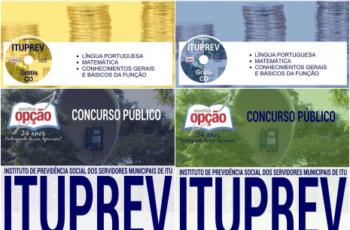 Apostilas Copeiro, Motorista Administrativo, Oficial Administrativo e Secretária do Concurso Público da ITUPREV – 2017
