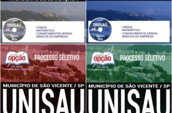 Apostilas Comuns a Diversos Empregos do Processo Seletivo da UNISAU São Vicente/SP – 2017