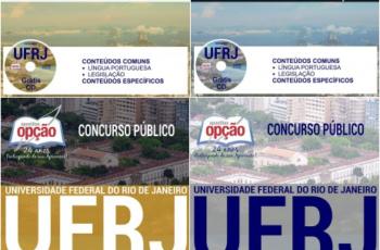 Apostilas Assistente em Administração, Assistente de Alunos e Auxiliar em Administração do Concurso Público da UFRJ – 2017