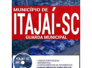 Apostila Concurso Município de Itajaí / SC – 2017, Guarda Municipal