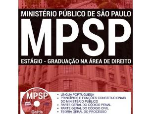 Apostila de Estudo 22º Processo Seletivo de Estágio do MP/SP – 2017, área de Direito