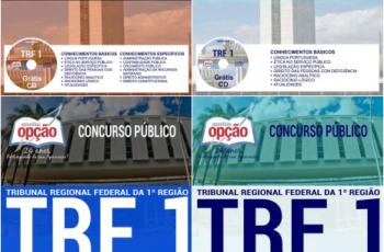 Apostilas Concurso Público TRF 1ª Região – 2017, empregos: Técnico Judiciário e Analista Judiciário