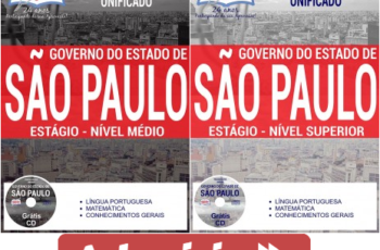 Apostilas Processo Seletivo Unificado para Estagiários do Estado de São de Paulo – 2017
