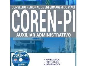 Apostila Processo Seletivo COREN / PI – 2017, Auxiliar Administrativo