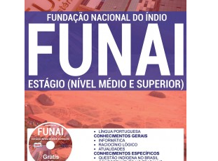 Material de Estudo Processo Seletivo Estágio de Nível Médio e Superior Mês de Setembro FUNAI – 2017