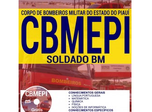 Apostila Concurso Público CMBEPI – 2017, Soldado BM