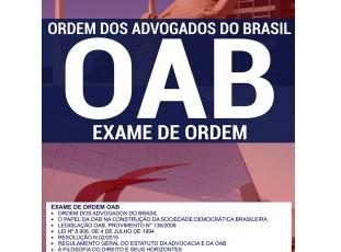 Apostila Preparatória Exame de Ordem dos Advogados do Brasil / OAB – 2017