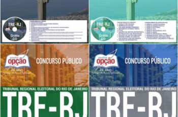 Apostilas Técnico Judiciário e Analista Judiciário do Concurso Público do TRE / RJ – 2017