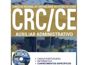 Apostila Auxiliar Administrativo do Processo Seletivo do CRC / CE – 2017