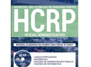 Apostila Oficial Administrativo do Concurso Público do HCRP / SP – 2017