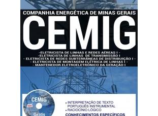 Apostila Eletricista e Mantenedor do Concurso Público da CEMIG – 2017/2018