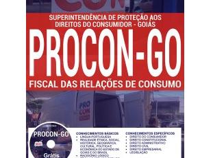 Apostila Concurso Público PROCON / GO – 2017, Fiscal das Relações de Consumo