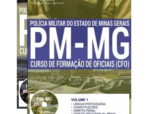 Apostila Concurso Público PM / MG – 2017/2018, Curso de Formação de Oficiais
