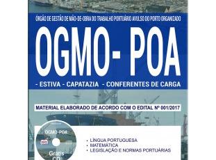 Apostila Estiva, Capatazia e Conferentes de Carga do Processo Seletivo do OGMO/POA de Porto Alegre / RS – 2017