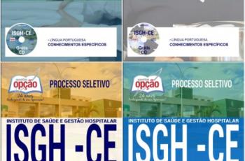 Apostilas Diversos Cargos do Processo Seletivo do ISGH / CE – 2017