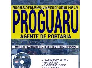 Apostila Concurso Público PROGUARU – 2017/2018, Agente de Portaria