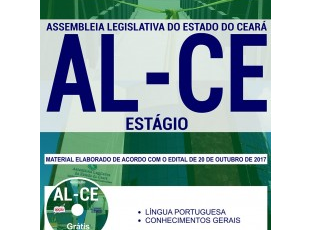 Apostila de Estudo Processo Seletivo ALCE – 2017, emprego: Estágio