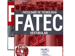 Apostila Preparatória para Ingresso em Cursos do Vestibular da FATEC 1º Semestre de 2018