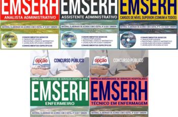 Apostilas Diversos Cargos do Concurso Público da EMSERH / MA – 2017/2018