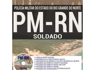 Apostila Concurso Público PM / RN – 2018, Praça da Polícia Militar (Soldado)