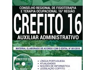 Apostila Auxiliar Administrativo do Concurso Público do CREFITO 16ª Região / MA – 2018